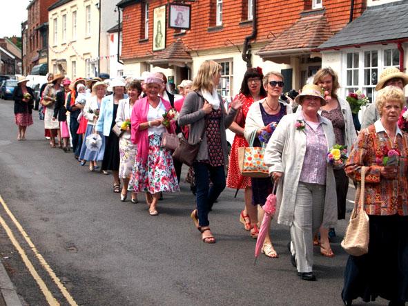 Women's March Nether Stowey