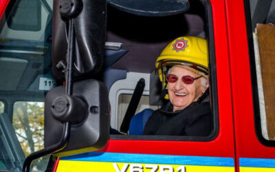 Somerset's First Female FireFighter