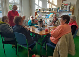 Knit and Natter Group Thomas Poole Library