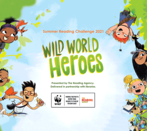 Summer Reading Challenge 2021 Wild for Heroes